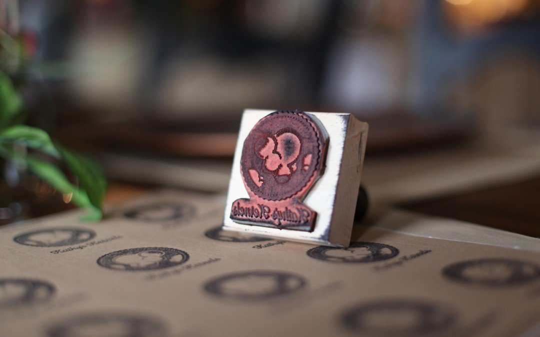 New Logo Stamp