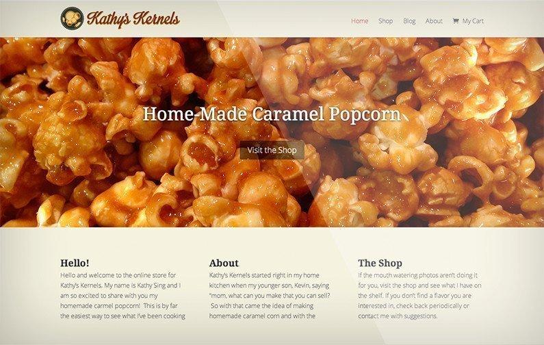 A Website in Progress