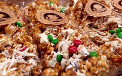 Tis the Season for Caramel Corn & Toffee