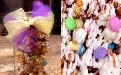 Easter Promo and Caramel Corn Mason Jars