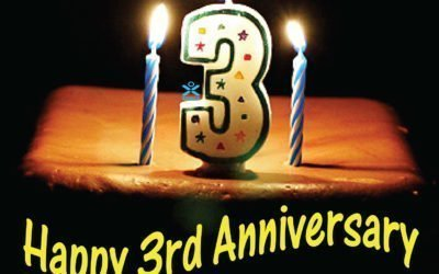 Happy 3rd Anniversary!